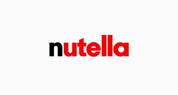 Nutella logo font - Avant Garde Gothic Bold