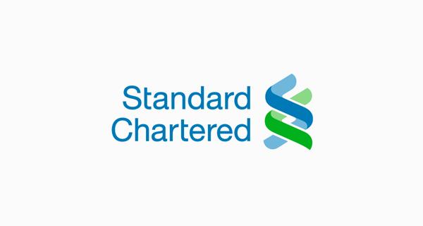Standard Chartered logo font - Helvetica Neue 55 Roman