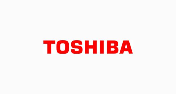 Toshiba logo font - Eurostile Black