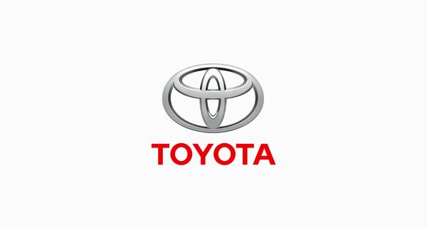 Toyota logo font - Avenir 95 Black