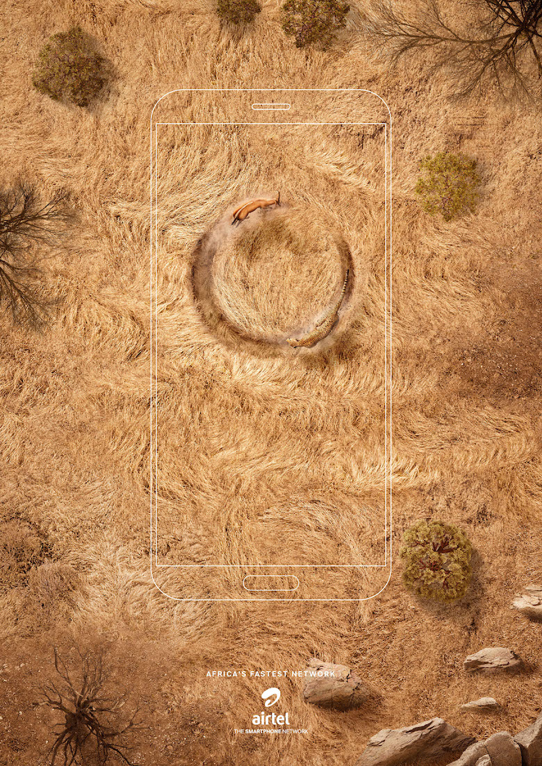 Airtel Africa: 'Chases' by Ogilvy Africa - Cheetah & Gazelle