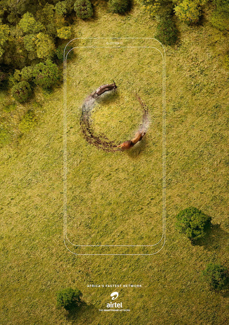 Airtel Africa: 'Chases' by Ogilvy Africa - Lion & Wildebeest