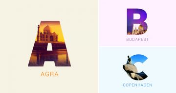 Beautiful Alphabet Series Of The World's Most Famous Cities And Their Iconic Landmarks
