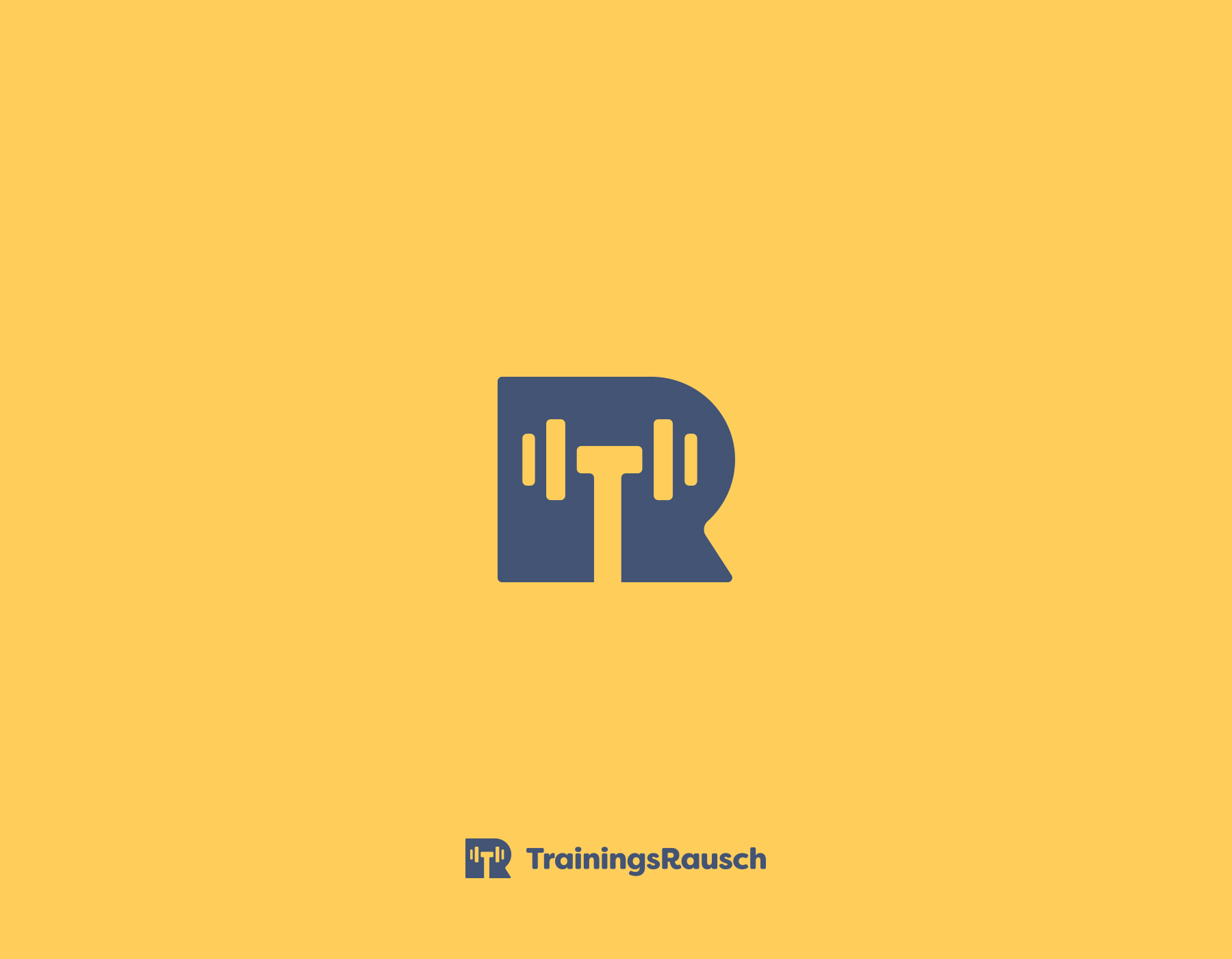 Creative logos with hidden symbolic meaning - TrainingRausch