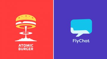 Designer Creates Clever Logos That Visually Represent The Name And Business Of The Company