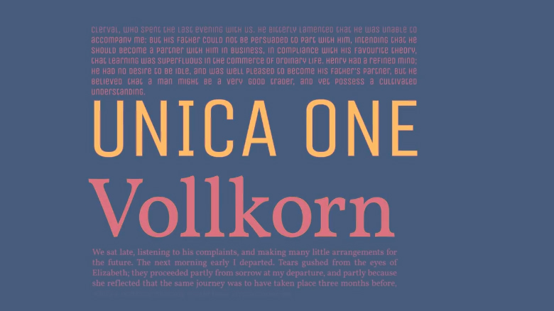 Unica One / Vollkorn