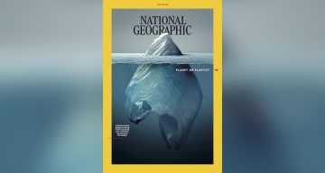 National Geographic Comes Up With An Iconic Cover To Raise Awareness About Plastic Pollution