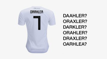 The Font On Adidas' Football World Cup Jerseys Is Causing A Lot Of Confusion