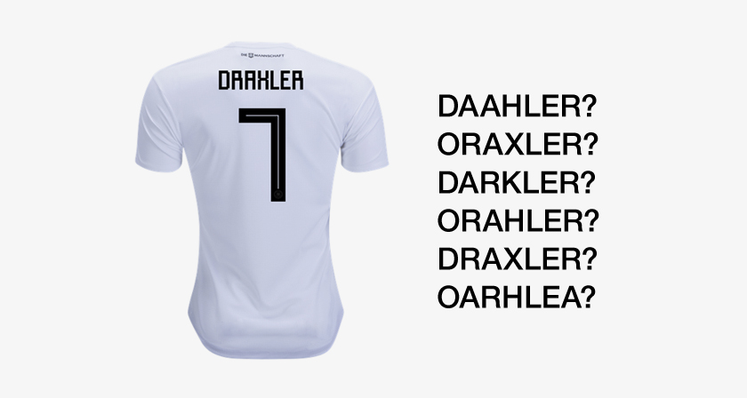 e749e45b5 The Font On Adidas  Football World Cup Jerseys Is Causing A Lot Of Confusion