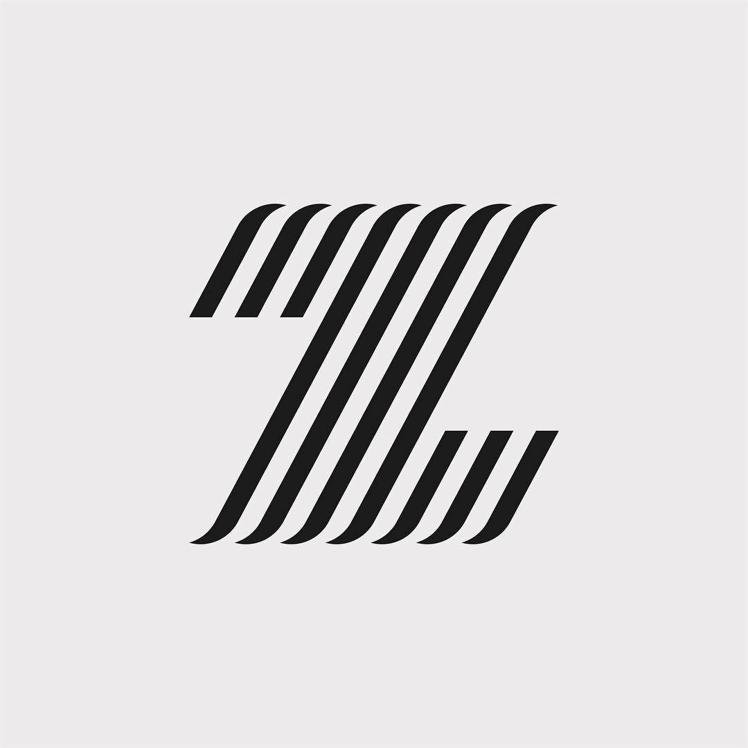 Creative typographic alphabet logos - Z for Zebra