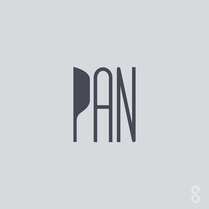 Creative typographic logos and icons of words - 5