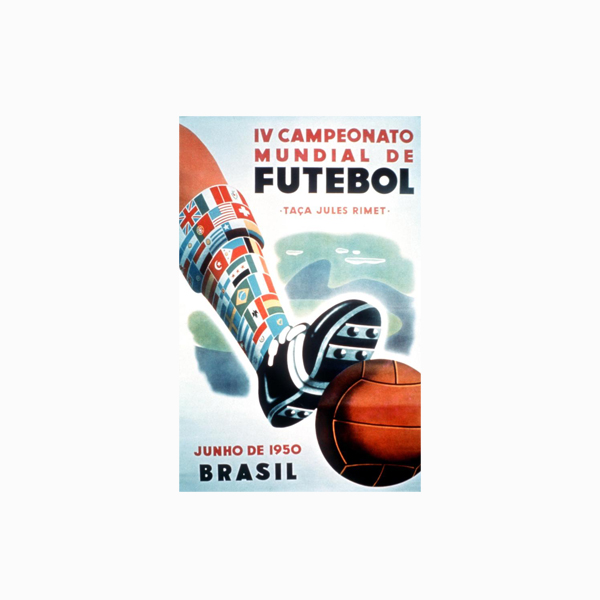FIFA World Cup Logos - 1950 Brazil