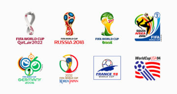 FIFA World Cup Logos From 1930 – 2018, Which One's The Best?