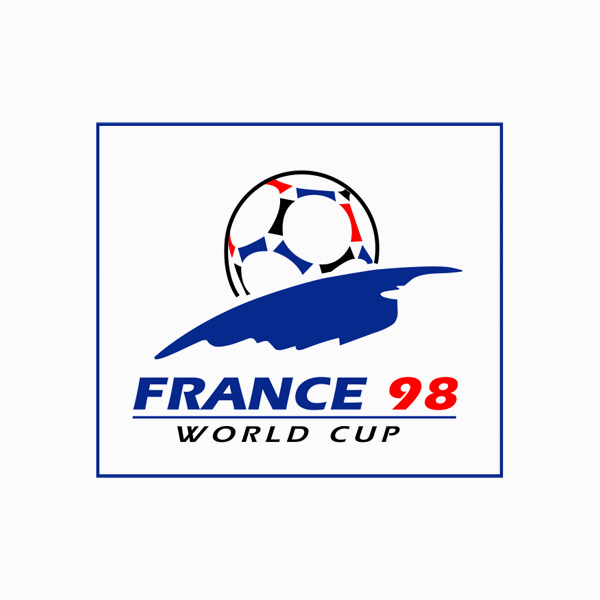 FIFA World Cup Logos - 1998 France