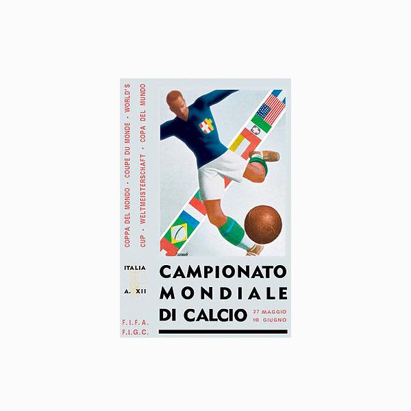 FIFA World Cup Logos - 1934 Italy