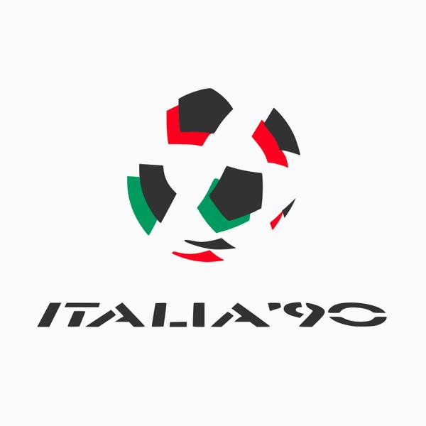FIFA World Cup Logos - 1990 Italy