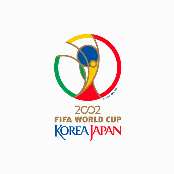 FIFA World Cup Logos - 2002 South Korea, Japan