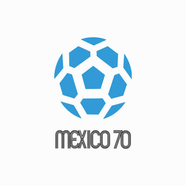 FIFA World Cup Logos - 1970 Mexico