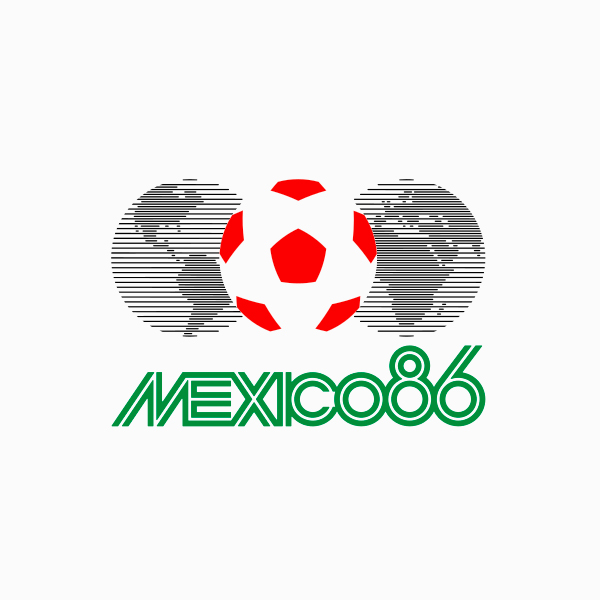 FIFA World Cup Logos - 1986 Mexico