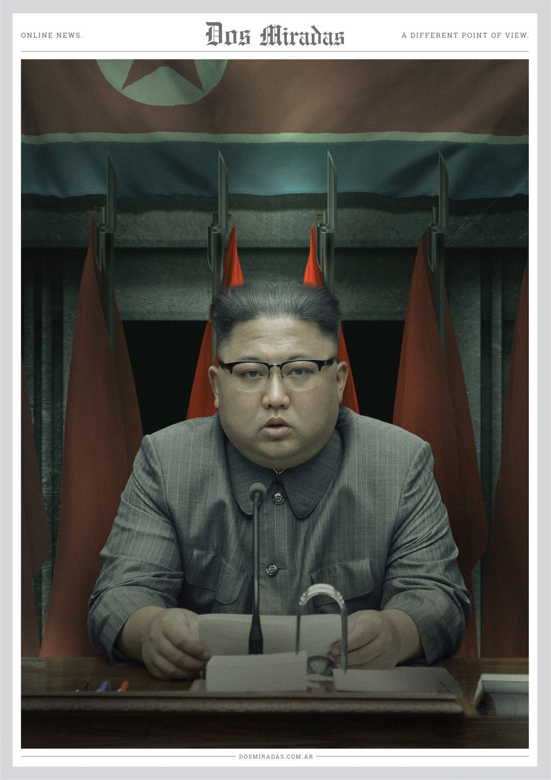 Dos Miradas: A different point of view - Kim Jong-un