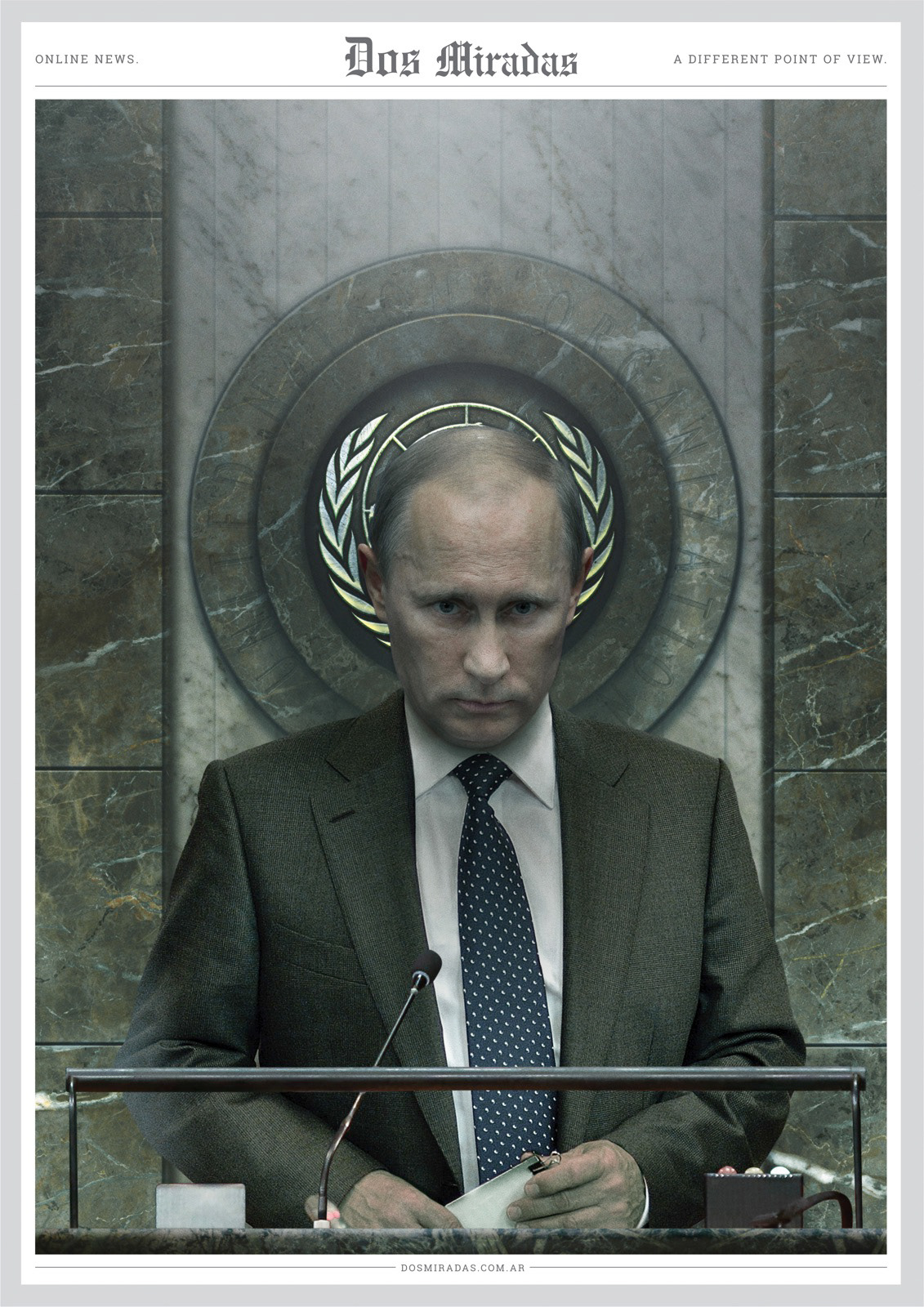 Dos Miradas: A different point of view - Vladimir Putin
