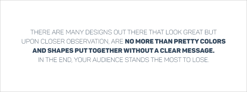 Graphic Design Rules - Effective communication