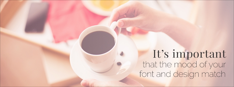 Graphic Design Rules - Choosing the right fonts