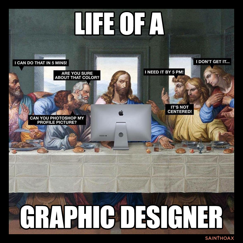 Life of a Graphic Designer