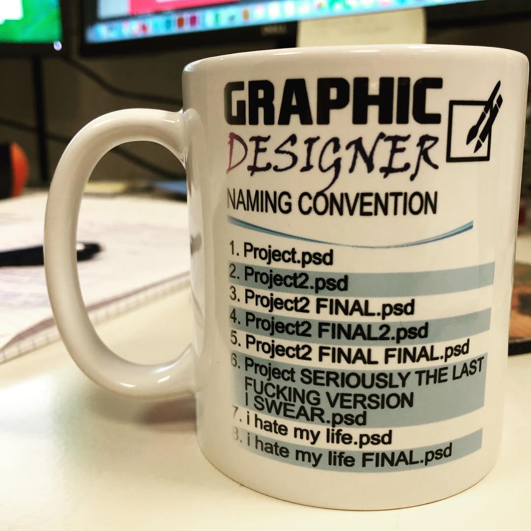 Graphic Designer File Naming Convention