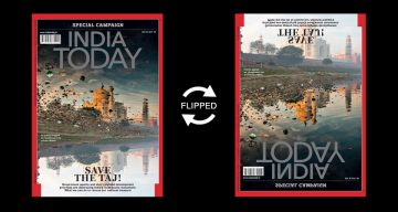 India Today Comes Up With A Brilliant Cover To Raise Awareness About Saving The Taj Mahal