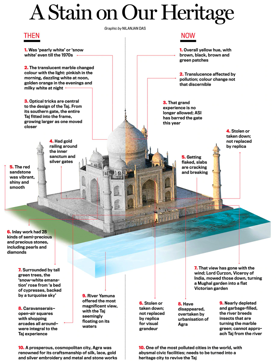 Save the Taj - Infographic 4