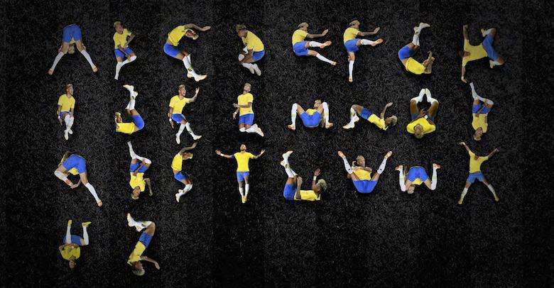 Neymar falling, diving font - 12