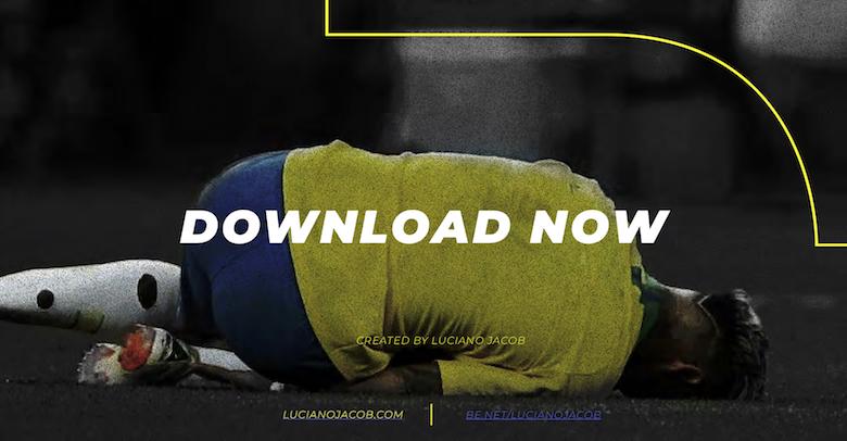 Neymar falling, diving font - 13