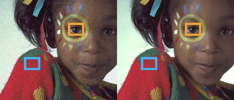NVIDIA AI can remove grains, noise, and watermarks from photos: Before and after - 2
