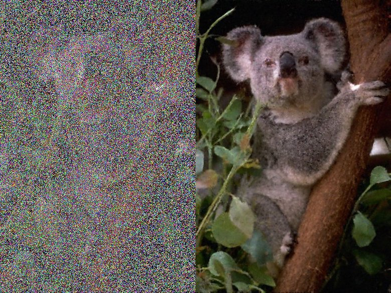 NVIDIA AI can remove grains, noise, and watermarks from photos: Before and after - 5