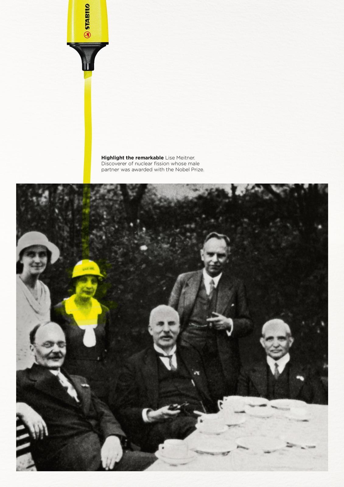 Highlight the remarkable - Lise Meitner