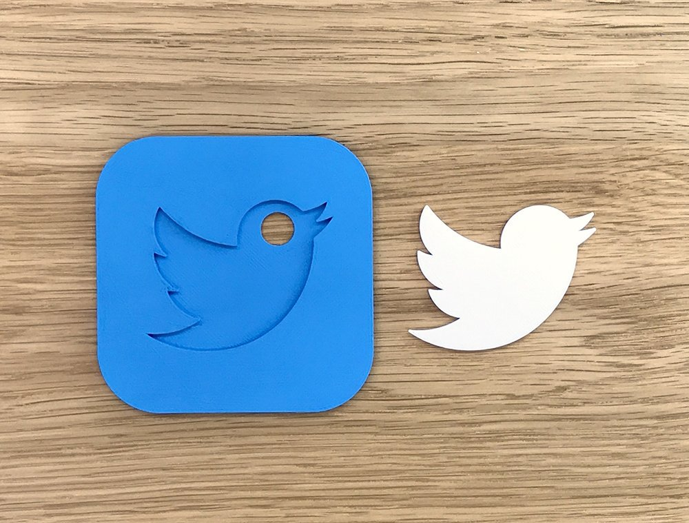 Famous logos 3D printed as everyday items - Twitter (2)