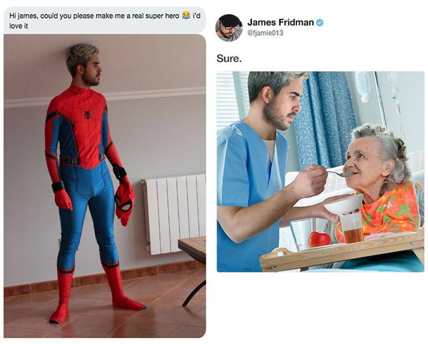 James Fridman trolls funny Photoshop requests - 1