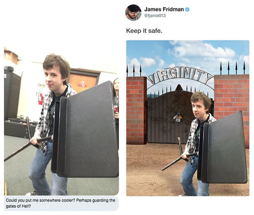 James Fridman trolls funny Photoshop requests - 13