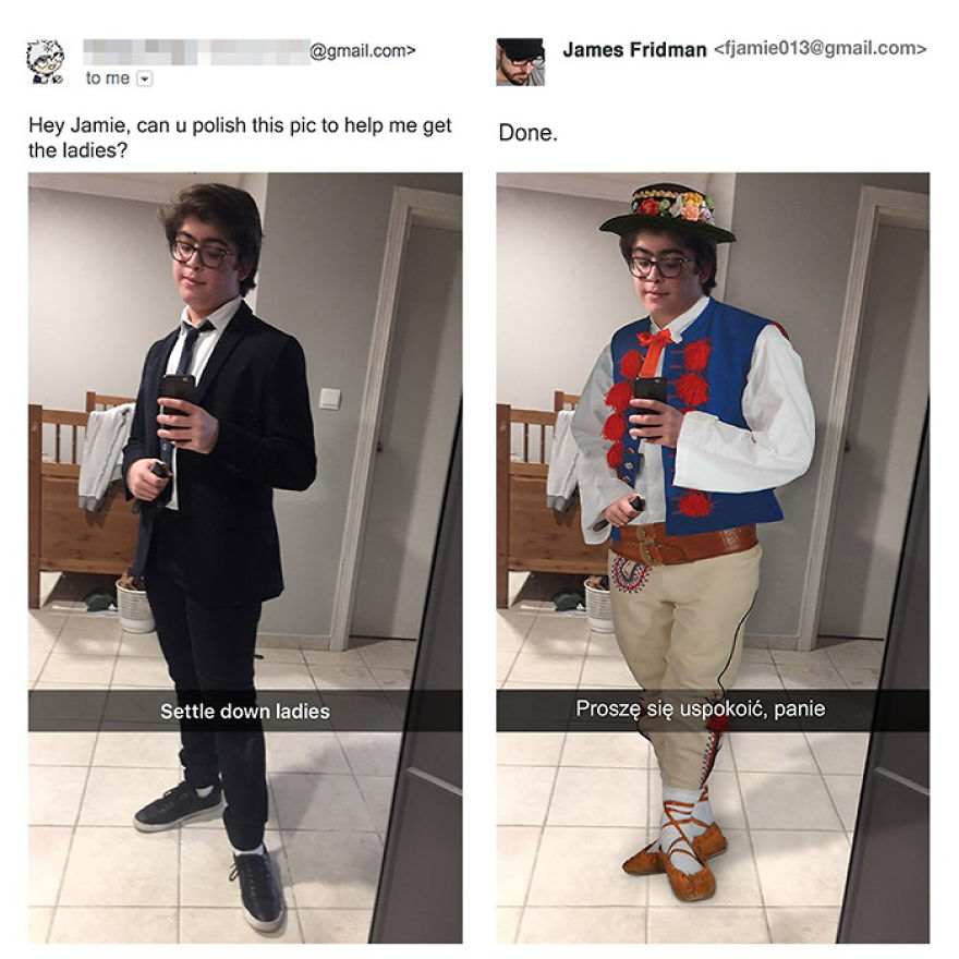 James Fridman trolls funny Photoshop requests - 15