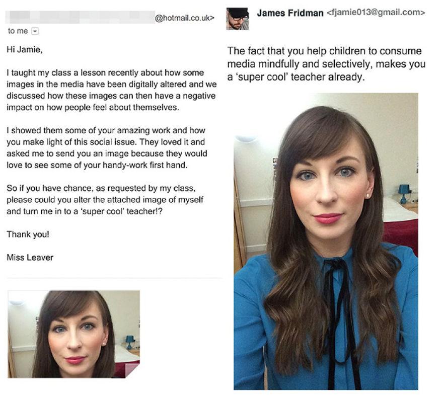 James Fridman trolls funny Photoshop requests - 17