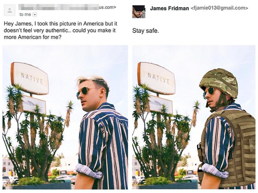 James Fridman trolls funny Photoshop requests - 4