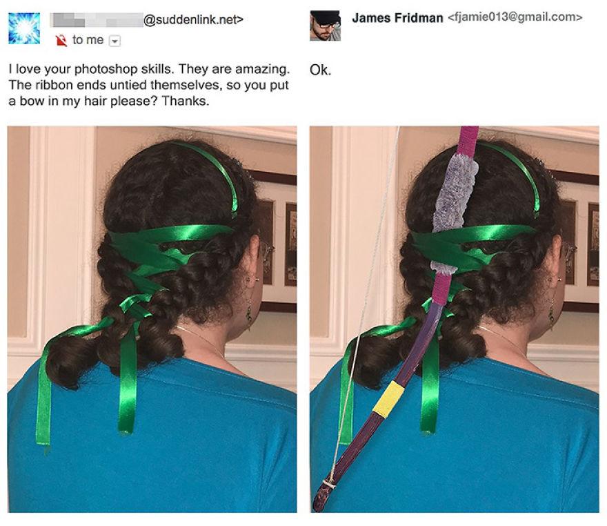 James Fridman trolls funny Photoshop requests - 7