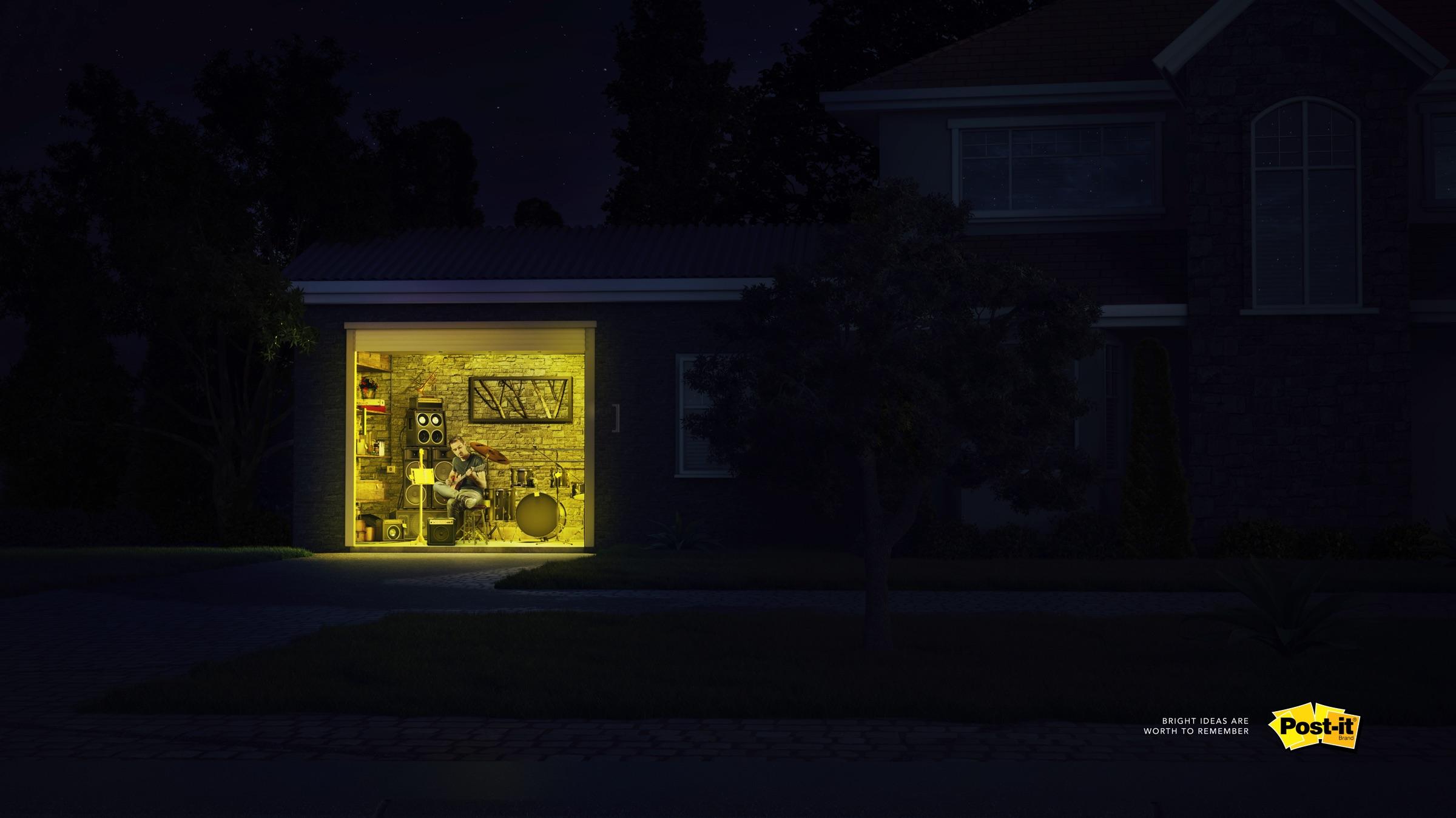 Post It - Bright Ideas (Musician)