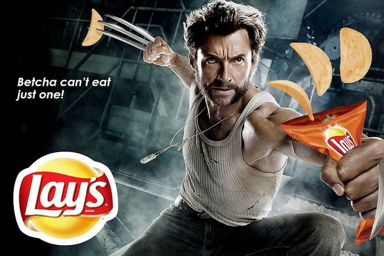If Wolverine endorsed Lay's