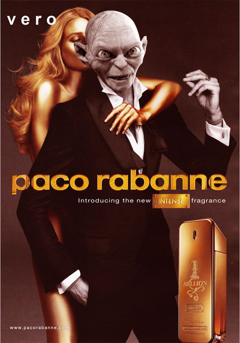 If Gollum endorsed Paco Rabanne