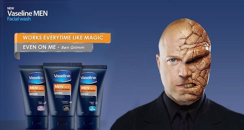 If The Thing endorsed Vaseline