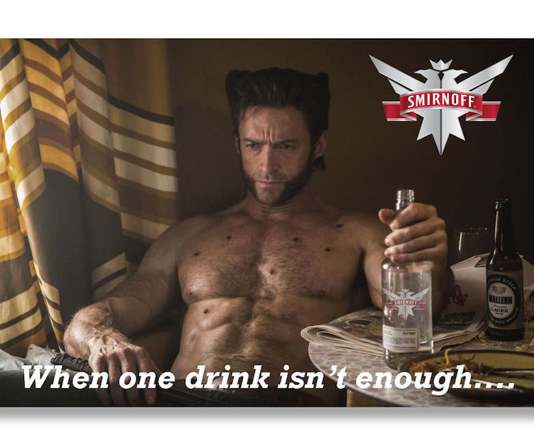 If Wolverine endorsed Smirnoff