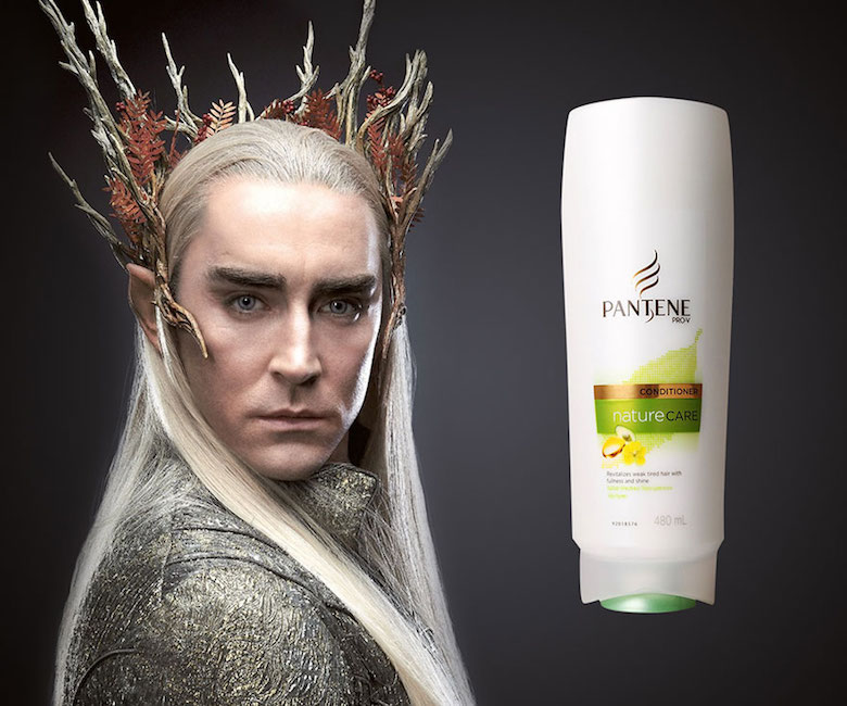 If Thranduil endorsed Pantene