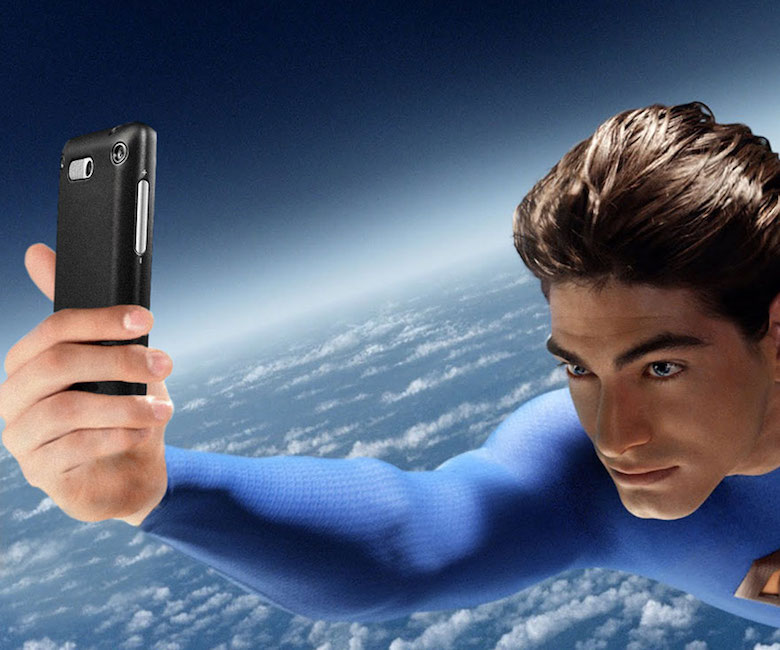 If Superman endorsed selfies